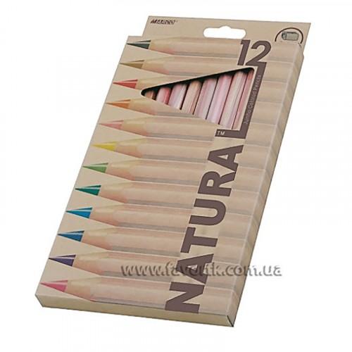 Набір олівців Marco Natural 6100-12CB 12 кольорів