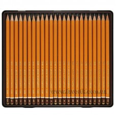Олівець графітний K-I-N 1570 3Н