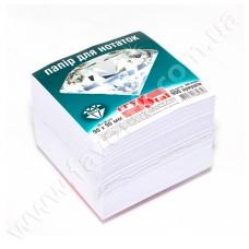 Папір для нотаток 90*90мм 900арк білий не клеєний CRYSTAL
