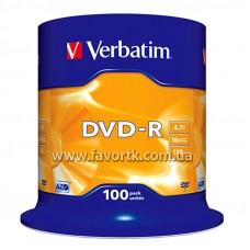 DVD-R Verbatim 4,7Gb 16x C100