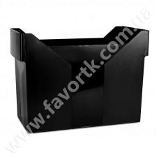 Картотека для підвісних файлів Donau пластикова чорна