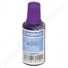 Штемпельна фарба 30мл Donau фіолетова