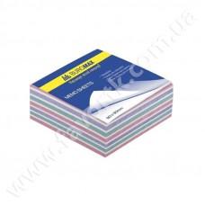 """Папір для нотаток 90*90мм 400арк кольоровий не клеєний """"Зебра"""" ВМ2265"""