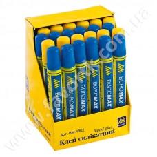 Клей-олівець силікатнийий 50мл з губкою ВuroМax 4802