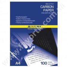 Папір копіювальний A4 ВМ 100арк чорний