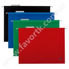 Підвісний файл А4 пластиковий зелений BM