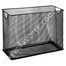 Картотека для підвісних файлів 315x140x245мм металева чорна