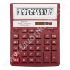 Калькулятор  Brilliant BS-777M червоний