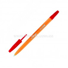 Ручка кулькова Economix RANGE 0.5мм червона