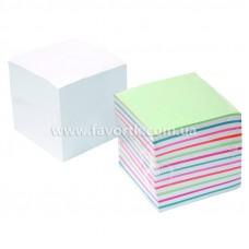 Папір для нотаток 90х90мм Economix  1000арк  білий