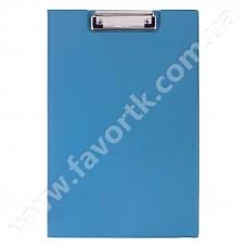 Планшет А4 Economix з притиском, ПВХ, синій