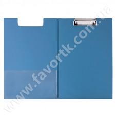 Папка-планшет з притиском А4 Economix, ПВХ синя