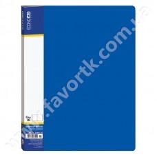 Папка А4 з 10 файлами Economix синя