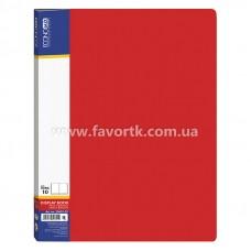 Папка А4 з 10 файлами Economix червона