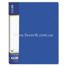 Папка А4 з 30 файлами Economix синя