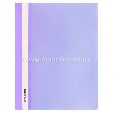 Папка-швидкозшивач А4 Economix фіолетова