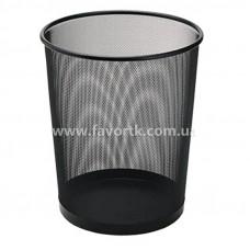 Кошик для сміття металевий, колір чорний