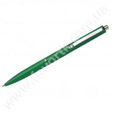 Ручка кулькова автоматична SCHNEIDER К15 корпус зелений, пише синім