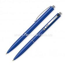 Ручка кулькова автоматична SCHNEIDER К15 корпус синій, пише синім