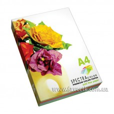 Набір кольорового паперу A4 Spektra Color 250арк. 5 кол х 50арк, пастель