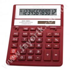 Калькулятор Citizen SDC-888T червоний