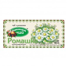 Чай в пакетиках Карпатський чай Ромашка 25*1г