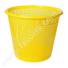 Кошик для паперів 8 л, ZiBi, жовтий