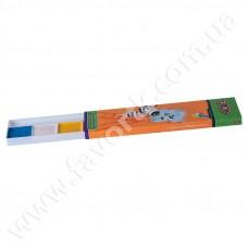 Акварельні фарби 6 кольорів, у картонній коробці, б/п
